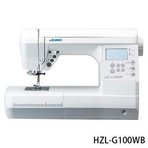 ミシン 本体 フットコントローラー付 JUKI 「HZL-G100WB / HZL-G100B」|mishin-shop|02