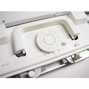パンチカード編み機 カンタン280 SK280 ドレスイン編機(旧:シルバー編み機)|mishindenet|04