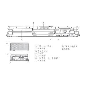 パンチカード編み機 カンタン280 SK280 ドレスイン編機(旧:シルバー編み機)|mishindenet|09
