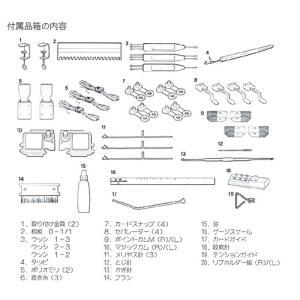 パンチカード編み機 カンタン280 SK280 ドレスイン編機(旧:シルバー編み機)|mishindenet|10