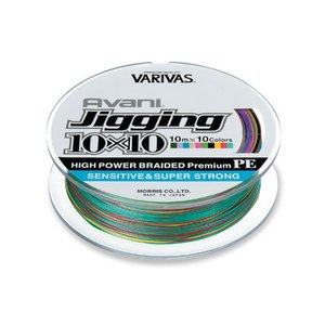 VARIVAS アバニ ジギング10×10 5号-300m|mishop