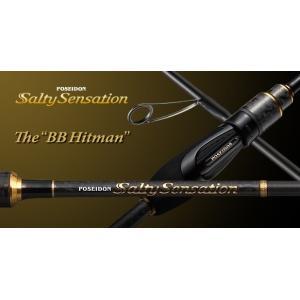 エバーグリーン SaltySensation ソルティセンセーション スピニングモデル (ソリッドティップ) BBヒットマン PSSS-74S|mishop