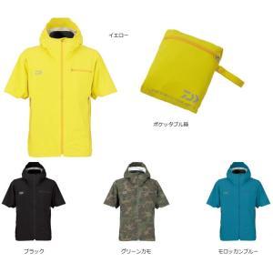 ダイワ レインマックス® ポケッタブル ショートスリーブ レインジャケット  DR-2308J mishop
