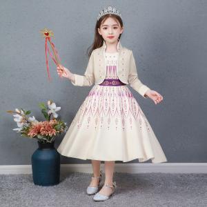 アナと雪の女王2 子供 コスチュームドレス エルサ アナ キッズ プリンセスドレス 子供 アナワンピ...
