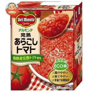 キッコーマン 完熟あらごしトマト 388g紙パック×12個入