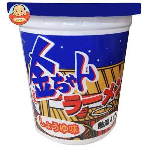 徳島製粉 金ちゃんラーメンカップ しょうゆ味 71g×12個入