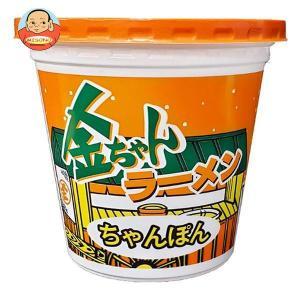 徳島製粉 金ちゃんラーメンカップ ちゃんぽん 76g×12個入