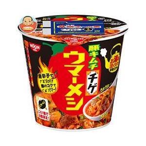 日清食品 日清ウマーメシ 豚キムチチゲ 100g×6個入|misono-support