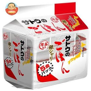 サトウ食品 サトウのごはん 銀シャリ 5食パック (200g×5食)×8袋入|misono-support