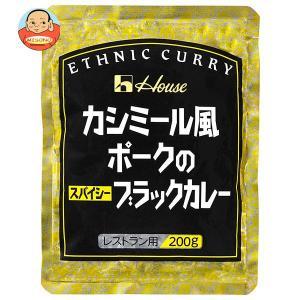 ハウス食品 カシミール風ポークのスパイシーブラックカレー 200g×30(10×3)個入