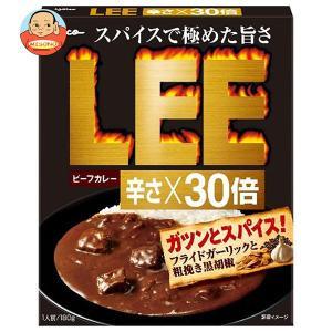 グリコ ビーフカレーLEE 辛さ×30倍 180g×10箱入|misono-support