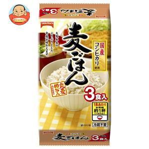 テーブルマーク 麦ごはん 国産コシヒカリ使用 3食 (160g×3個)×8個入|misono-support