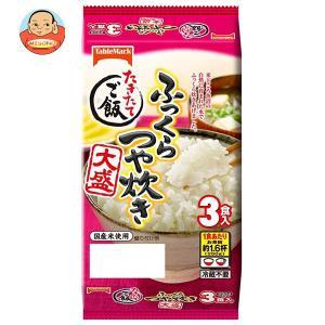 テーブルマーク たきたてご飯 ふっくらつや炊き 大盛 3食 (250g×3個)×8袋入|misono-support
