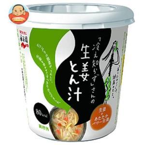 永谷園 「冷え知らず」さんの生姜カップとん汁 76g×6個入|味園サポート PayPayモール店