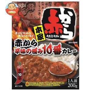 ハチ食品 本家 赤から辛味の極み10番カレー 200g×20(5×4)個入|misono-support