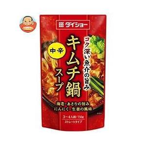 ダイショー コクと旨みの キムチ鍋スープ 750g×10袋入...