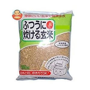 越後製菓 ふつうに炊ける玄米 500g×10袋入|misono-support