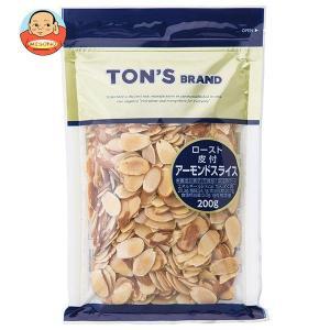 東洋ナッツ食品 トン ナチュラルスライスアーモンド 200g×20袋入