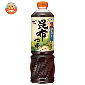 ヤマサ醤油 昆布つゆ 1Lペットボトル×6本入 misono-support