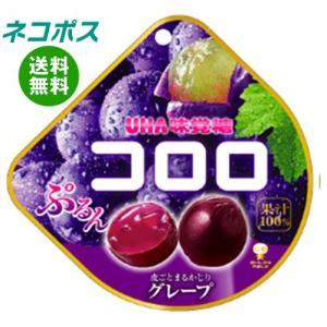 【全国送料無料】【ネコポス】UHA味覚糖 コロロ グレープ 48g×6袋入