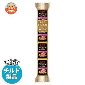 【送料無料】【チルド(冷蔵)商品】QBB プレミアムベビーチーズ 贅沢アーモンド 60g(4個)×25個入|misono-support