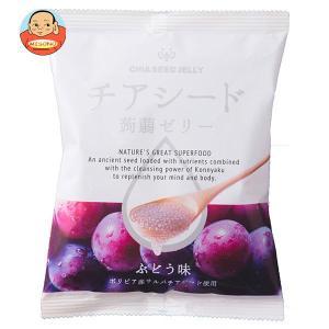 チアシード蒟蒻ゼリー ぶどう味 10個×...