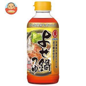 ヒガシマル醤油 よせ鍋つゆ 3倍濃縮 400mlペットボトル×12本入 misono-support