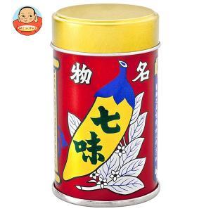 八幡屋礒五郎 七味唐からし缶 14g×10個入|misono-support