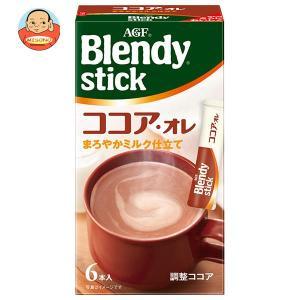 AGF ブレンディ スティック ココア・オレ 11g×7本×24箱入|misono-support
