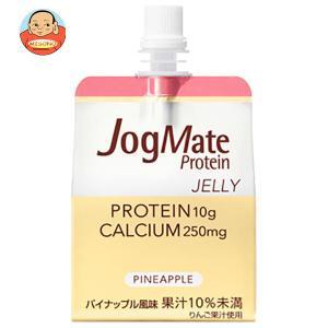 大塚製薬 ジョグメイト プロテインゼリー パイナップル味 180gパウチ×24本入|misono-support