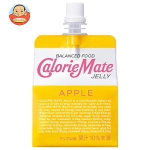 大塚製薬 カロリーメイトゼリー アップル味 215gパウチ×24本入|misono-support