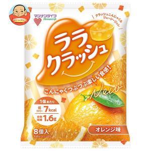 マンナンライフ 蒟蒻畑 ララクラッシュ オレンジ味【特定保健用食品 特保】 24g×8個×12袋入|misono-support