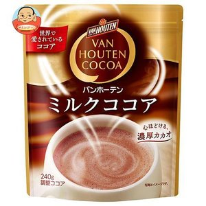 片岡物産 バンホーテン ミルクココア 240g×12袋入|misono-support