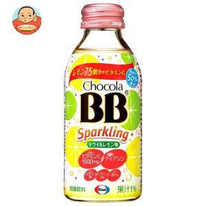 エーザイ チョコラBB スパークリング キウイ&レモン味 140ml瓶×24本入|misono-support
