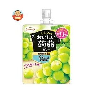 たらみ おいしい蒟蒻ゼリー マスカット味 150gパウチ×30本入|misono-support