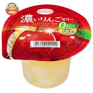 たらみ 濃いゼロカロリー 濃いりんごゼリー0kcal 195g×24(6×4)個入|misono-support