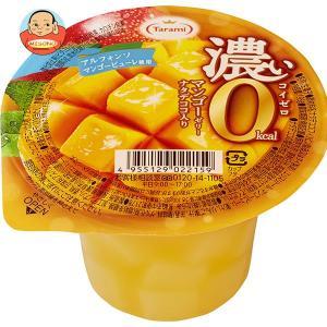たらみ 濃いゼロカロリー 濃いマンゴーゼリー0kcal 195g×24(6×4)個入|misono-support