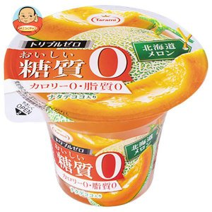 たらみ トリプルゼロ おいしい糖質0 北海道メロン 195g×18(6×3)個入|misono-support