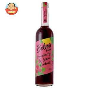 ユウキ食品 コーディアル ラズベリー&レモン 500ml瓶×6本入|misono-support
