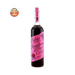 ユウキ食品 コーディアル ラズベリー&ローズ 500ml瓶×6本入|misono-support