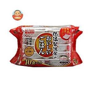アイリスオーヤマ 低温製法米のおいしいごはん 国産米100% 10食 1200g(120g×10個)×4個入|misono-support