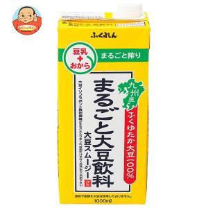 ふくれん 大豆スムージー まるごと大豆飲料 1L紙パック×12(6×2)本入|misono-support
