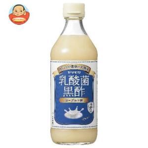 ヤマモリ 乳酸菌黒酢 ヨーグルト味 500ml瓶×6本入 misono-support