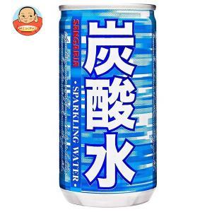 サンガリア 炭酸水 185ml缶×30本入