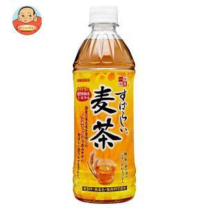 サンガリア すばらしい麦茶 500mlペットボトル×24本入|misono-support