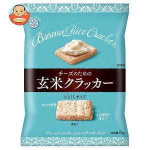 雪印メグミルク チーズのための玄米クラッカー 15g×8袋入