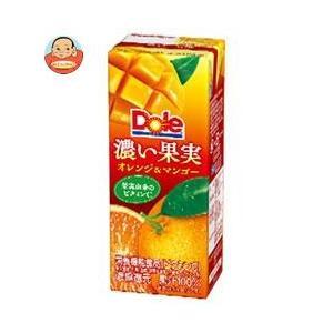 Dole(ドール) 濃い果実 オレンジ&マンゴー 200ml...