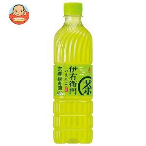 サントリー 緑茶 伊右衛門(いえもん)【竹筒型ボトル】 500mlペットボトル×24本入