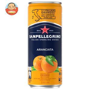 アランチャータ (オレンジ) 330ml缶×24本入...