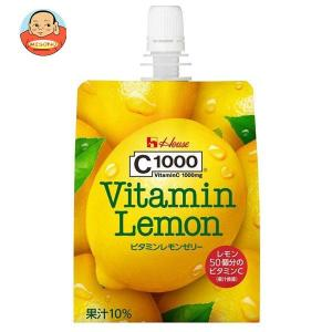 ハウスウェルネス C1000 ビタミンレモンゼリー 180gパウチ×24本入|misono-support